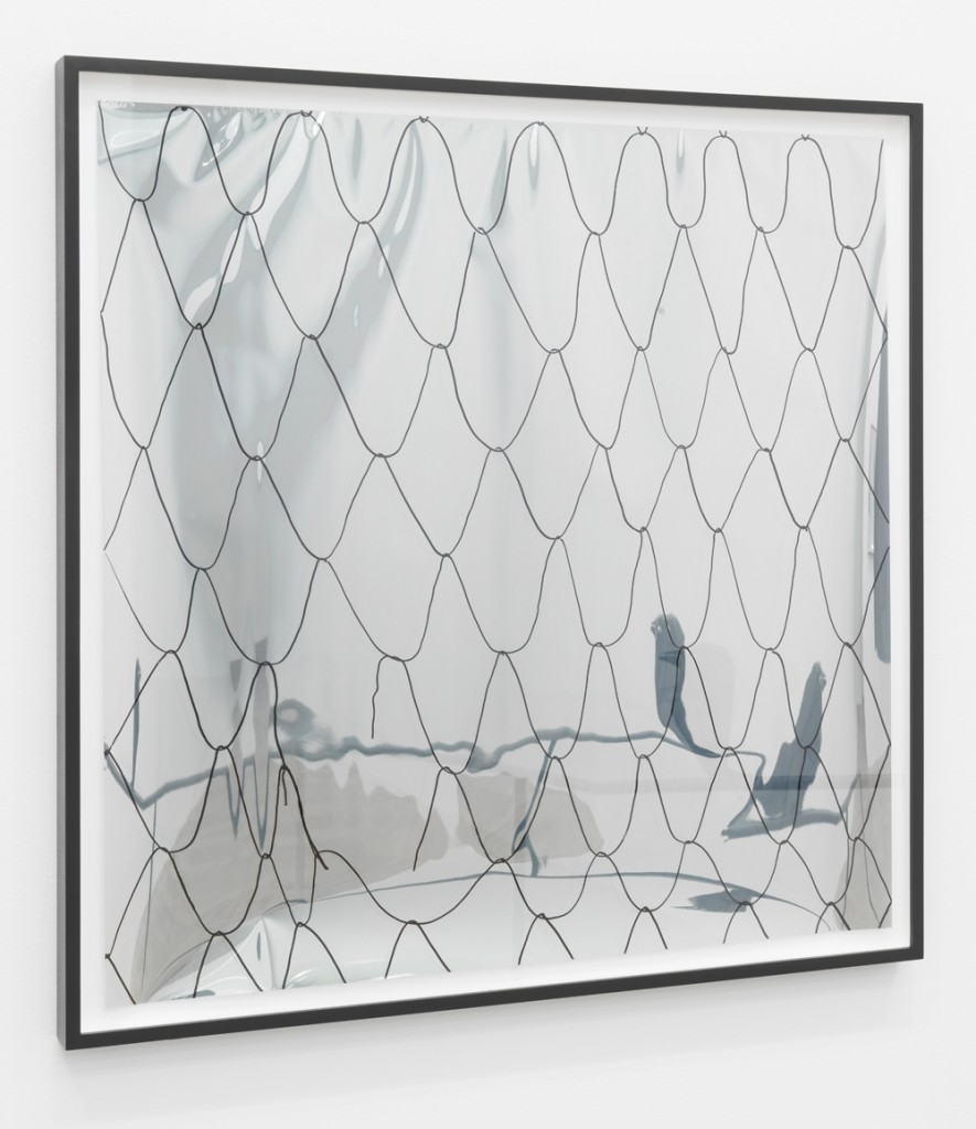 no title (net on mirror foil 2)