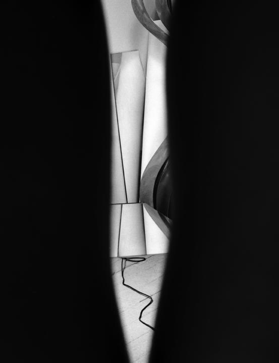studio through legs